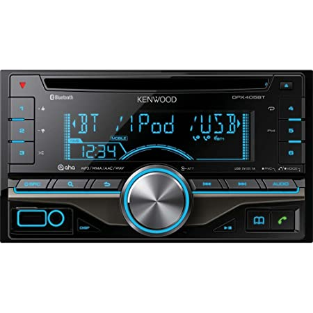 Kenwood Electronics DPX-405BT Autoradio CD/DVD Noir (Import Royaume Uni)