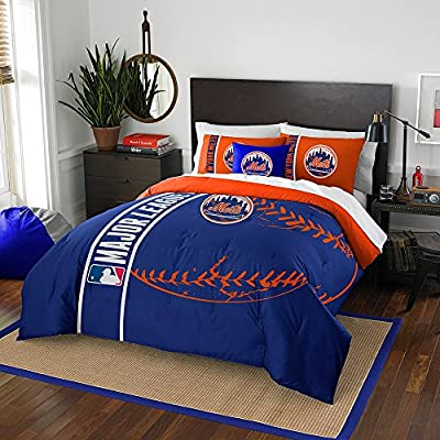 New York Mets NY Comforter and Sham Bed Set