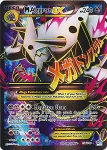 Pokemon - M Aggron-EX (154/160) - XY Primal Clash - Holo: Toys & Games