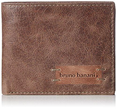 Bruno Banani VISTA_2_1, Portafoglio Unisex - adulto, Marrone (Braun (braun_cognac)), 12x9x2 cm (B x H x T)