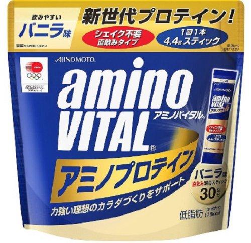 味の素アミノバイタルプロテインバニラ4.4g×30