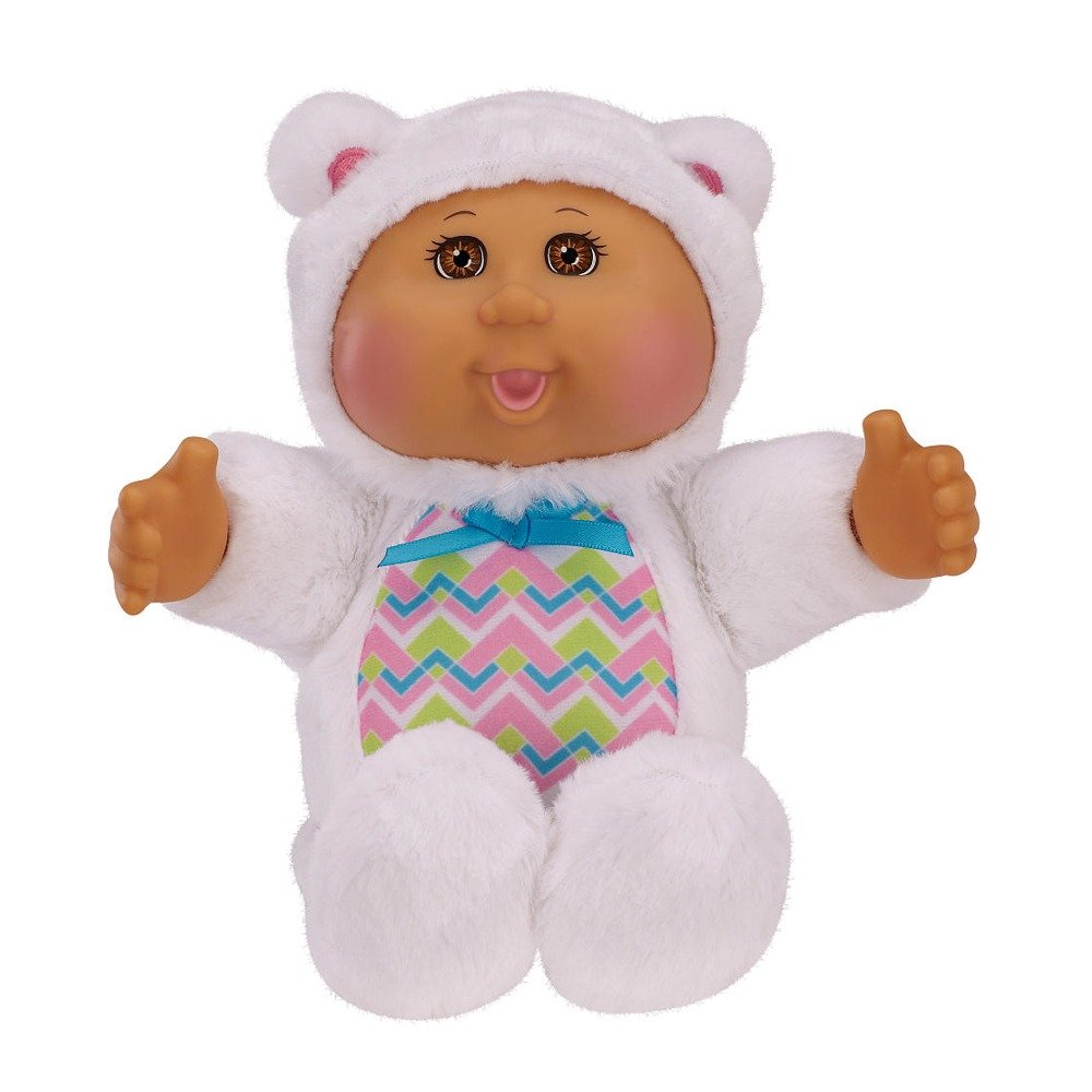Cabbage Patch Kids Cuties 9 inch Polar Bear Around the World - Brown eyes нижнее белье disney 041100972 cuties 2014 9721 9726