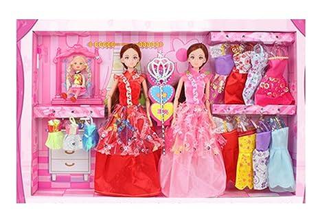 Set Of 61 Barbie Doll Dress Suit, Jouets pour enfants, le rêve Doll Clothes