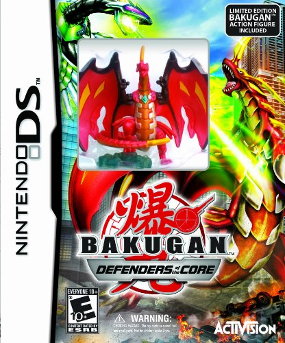 Bakugan Battle Brawlers: Defenders of the Core with Limited Edition Bakugan Action Figure - Nintendo DS - 1