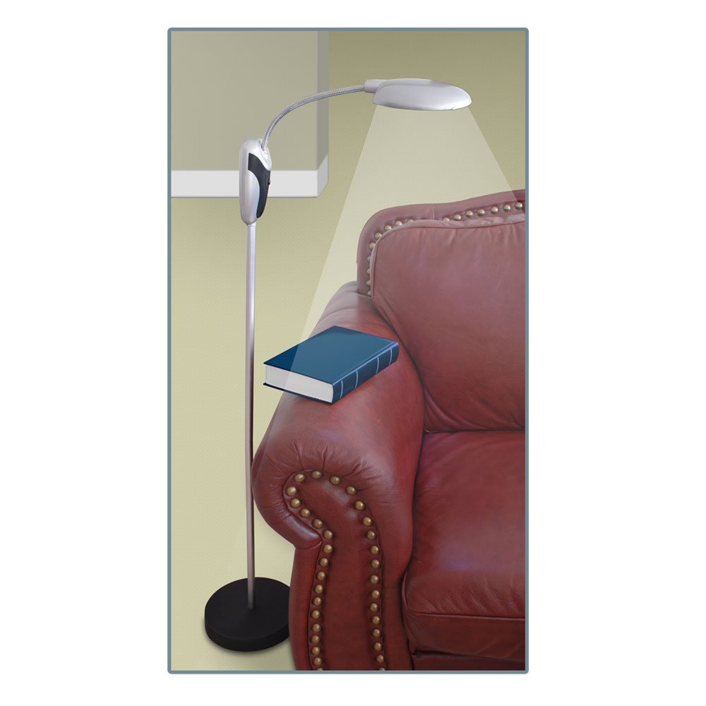 Trademark Home Portable Cordless LED Floor Lamp image