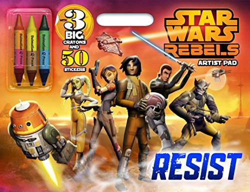 Bendon Publishing Star Wars Rebels Artist Pad with Double-Ended Crayons