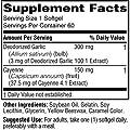 Garlic and Cayenne 450 mg, 60 Softgels