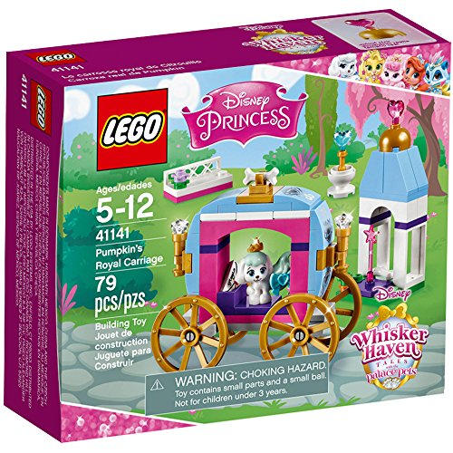 Lego Disney Princess Cinderella Pumpkin's Royal Carriage Whisker Haven Palace Pet 5+ years (Barbie Basics Accesory Pack compare prices)