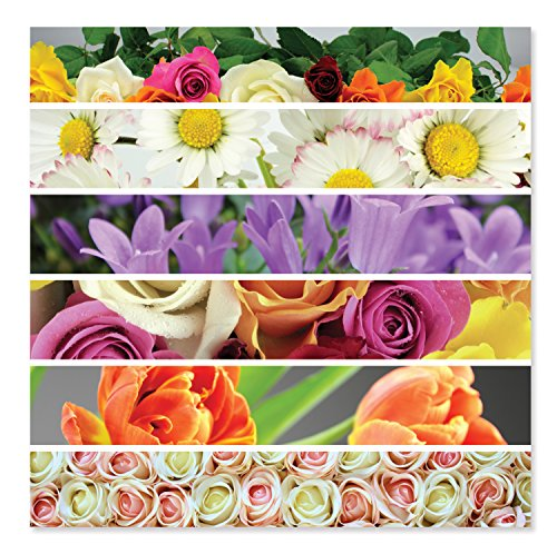 Melissa & Doug Flower Ribbons Cardboard Jigsaw Puzzle 500 pc Puzzle