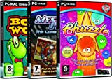 Popcap Games Triple Pack 2 - Bookworm / Mystery P.I. The Lottery Ticket / Chuzzle (PC)