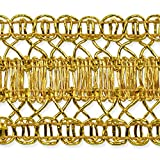 Expo 20 yd of Kaylee Metallic Braid Trim, Gold