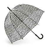 Fulton Birdcage 2 Women's Umbrella Damask Black One Size