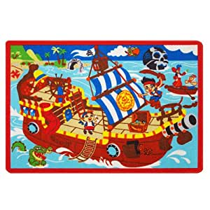 Disney Jake And The Neverland Pirates Game Rug Amazon Co