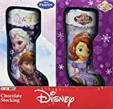 Galerie Disney Princess Foil Wrapped Chocolate Stockings, 14.82 Ounce