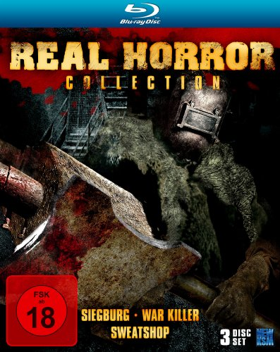 Real Horror Collection (Siegburg / War Killer / Sweatshop) (3 Blu-rays) [Blu-ray] [Limited Collector's Edition]