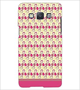 PrintDhaba Pattern D-1615 Back Case Cover for SAMSUNG GALAXY E5 (Multi-Coloured)