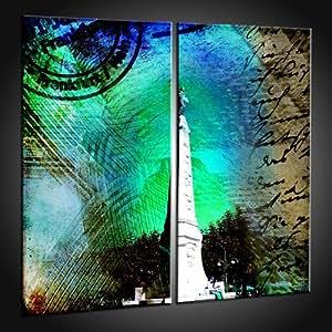 Idée cadeau: Art Prints cher à partir de motifs de Francfort in 50x50 cm