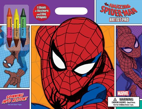 Bendon Publishing The Amazing Spider-Man Artist Pad: Spinning Into Action!