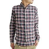 (アーケード) ARCADE 15color メンズ 選べる15種 シャツ 長袖シャツ ネルシャツ ボタンダウン チェックシャツ M 【C-5柄】