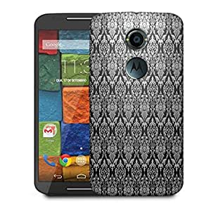 Snoogg Abstract Grey Pattern 1 Designer Protective Phone Back Case Cover For Moto X 2nd Generation
