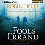 Fool's Errand: Tawny Man, Book 1 (       UNABRIDGED) by Robin Hobb Narrated by James Langton