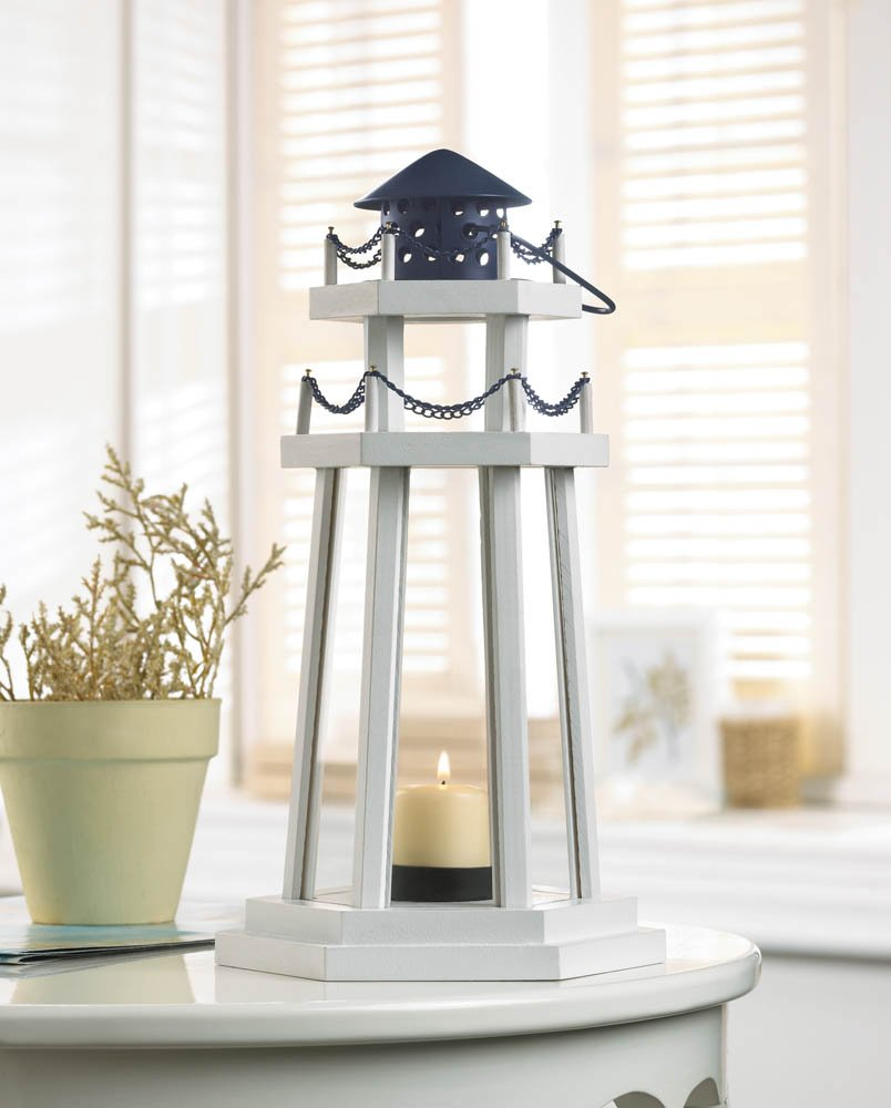 Nautical lamps lantern lighthouse and candle holders