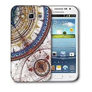 Snoogg Fractal Design Artistic Printed Protective Phone Back Case Cover For Samsung Galaxy Samsung Galaxy Win I8550 / S IIIIII