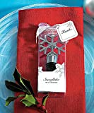 1 X Weddingstar 6096 Snowflake Shaped Wine Stopper