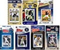 MLB San Diego Padres Men's 7 Different Licensed Trading Card Team Sets