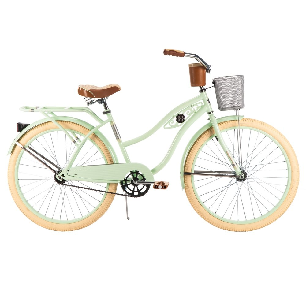 Huffy Women S Deluxe Cruiser Bike Mint Green 26 Inch Medium