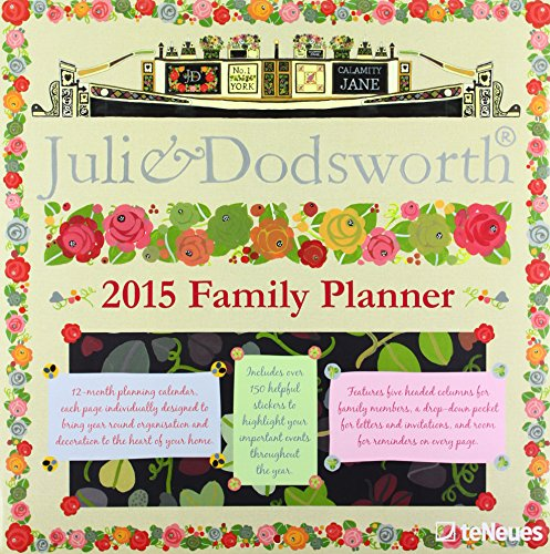 2015 Julie Dodsworth Family Planner