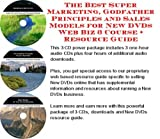img - for The Best Super Marketing, Godfather Principles and Sales Models for New DVDs Web Biz 3 Course + Resource Guide book / textbook / text book