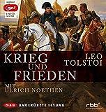 Krieg und Frieden (mp3-Ausgabe, ungekürzte Lesung): 6 mp3-CDs