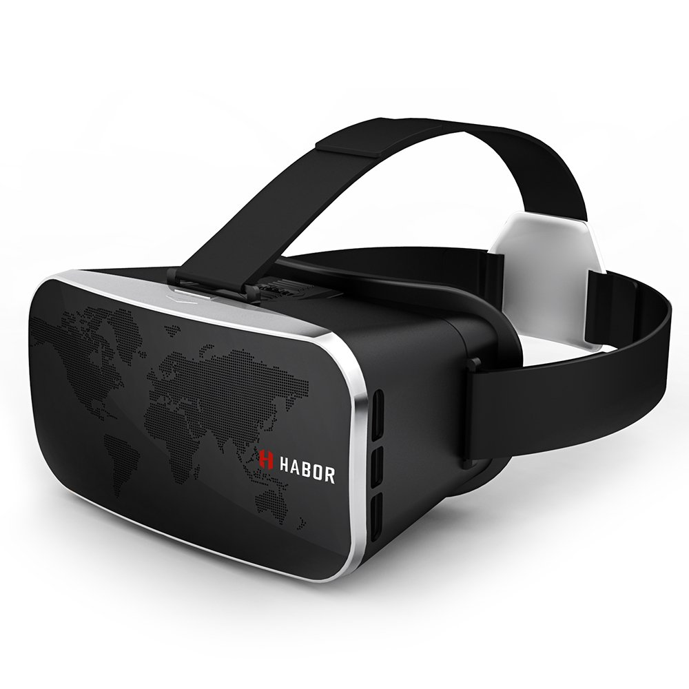 Habor 3D VR Virtual Reality Headset Virtual Video Glasses for iPhone 6s 6 Plus Samsung Galaxy series