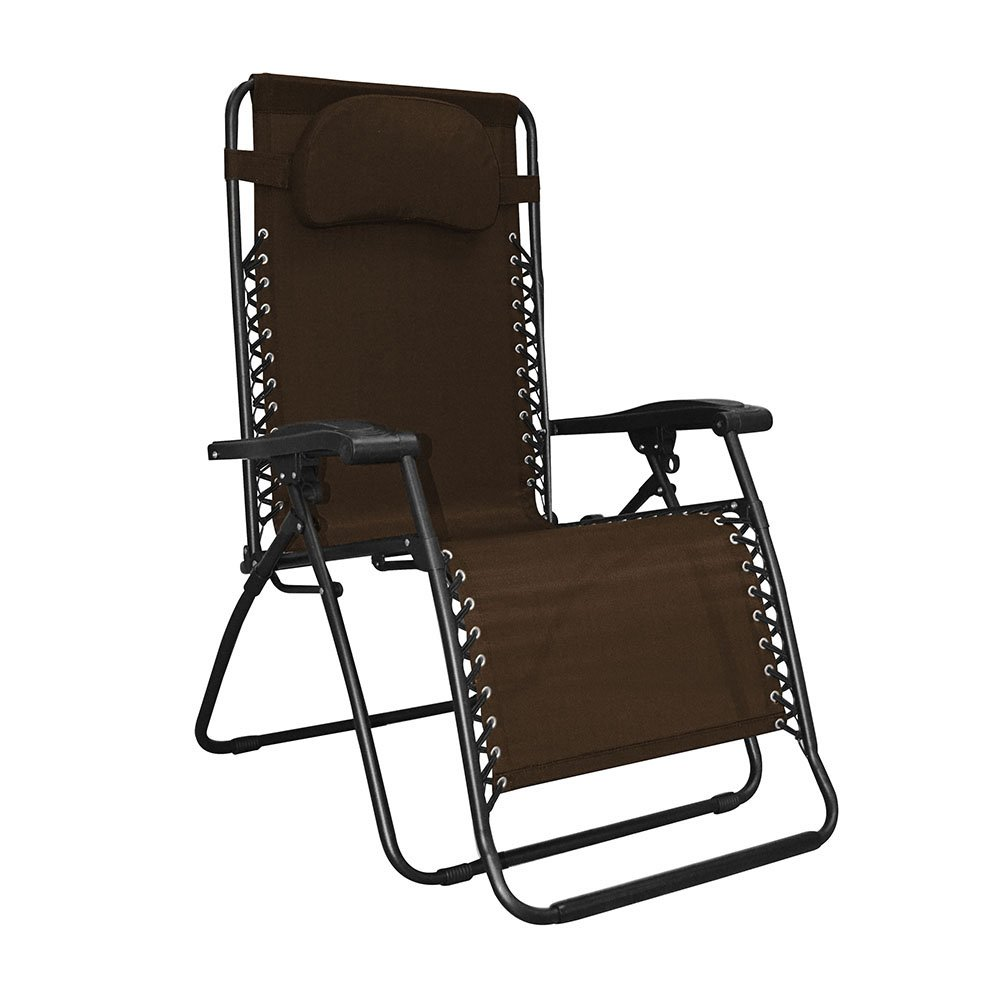 Caravan Sports Infinity Oversized Zero Gravity Outdoor Lounge Chair