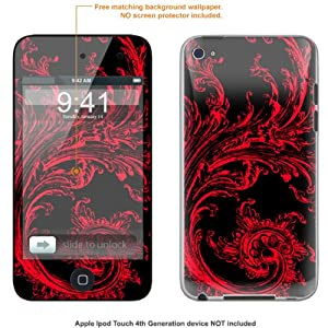 Protective Decal Skin STICKER for Apple Ipod Touch 4G, 4th Generation case cover IPtouch4G-85