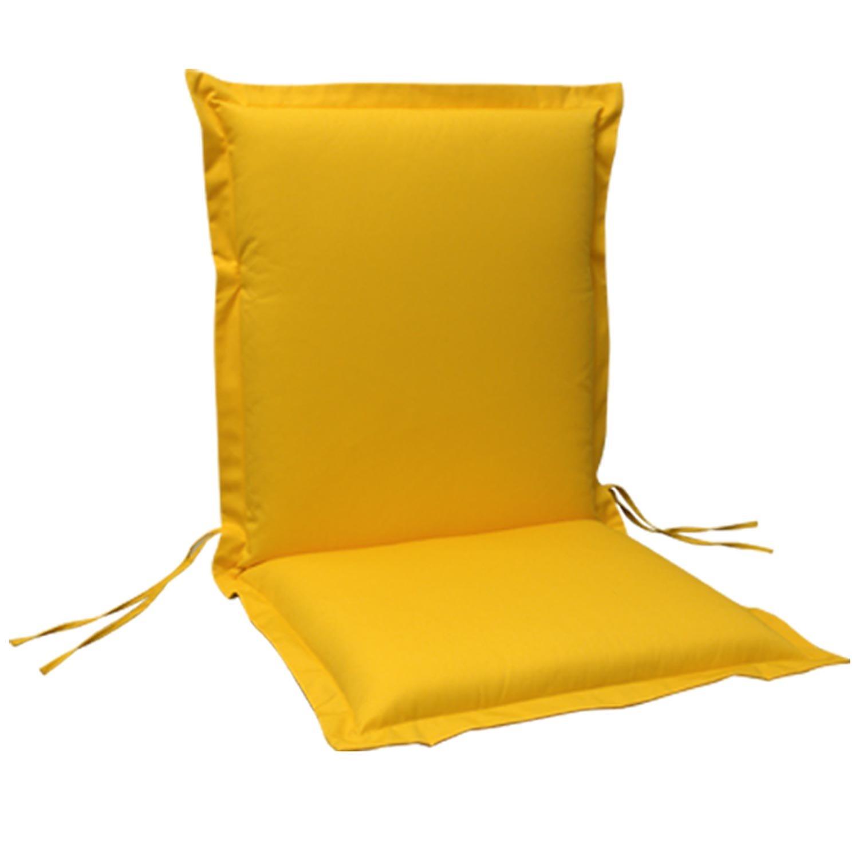 indoba® IND-70441-AUNL-6 – Serie Premium – Gartenstuhl Auflage – Niedriglehner, extra dick, Gelb – 6 Stück jetzt bestellen