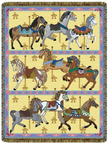 Carousel Horses front-584819