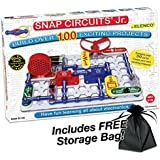 Elenco Electronic Snap Circuits, Jr. Kit with Free Storage Bag