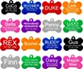 Pet Id Tags 8 Shapes Colors To Choose From Dog Cat Aluminum from Providence Engraving