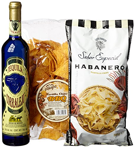 Sierra Madre Tequila Corralejo Snack Paket, 1er Pack