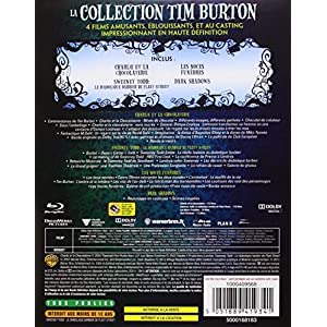 La Collection Tim Burton - Charlie et la chocolaterie + Les noces funèbres + Sweeney Todd + Dark Sh