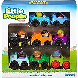 Fisher-Price Little People Wheelies Gift Set