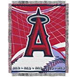 MLB Los Angeles Angels 48-Inch-by-60-Inch Jacquard Acrylic Throw at Amazon.com