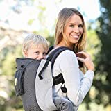 LILLEbaby 5 - 1 CarryOn Toddler Carrier - Air - Grey/Silver