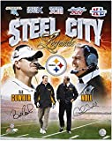 "Bill Cowher and Chuck Noll Pittsburgh Steelers Dual-Signed 16"" x 20"" Legends Photograph - Fanatics Authentic Certified"