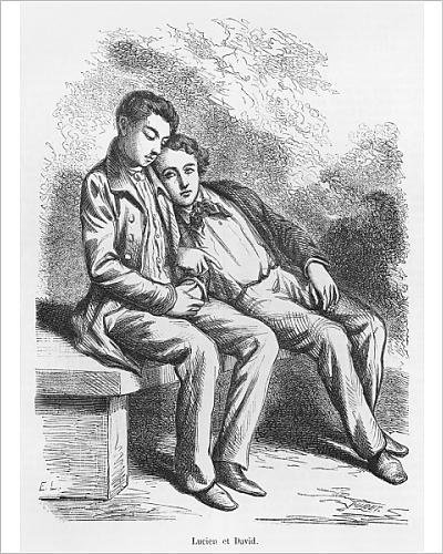 photographic-print-of-lucien-de-rubempre-and-david-sechard-illustration-from-les-illusions
