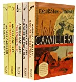 Andrea Camilleri Andrea Camilleri Inspector Montalbano Mysteries Collection 5 Books Set Pack (The Voice of the Violin, Excursion to Tindari, The Shape of Water, The Terracotta Dog, The Snack Thief)