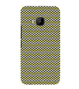 Rangoli Art Silver Leafs 3D Hard Polycarbonate Designer Back Case Cover for HTC One M9 :: HTC M9 :: HTC One Hima