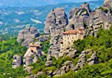 Meteora monasteries, Greece - 2000 pieces Puzzle - Castorland